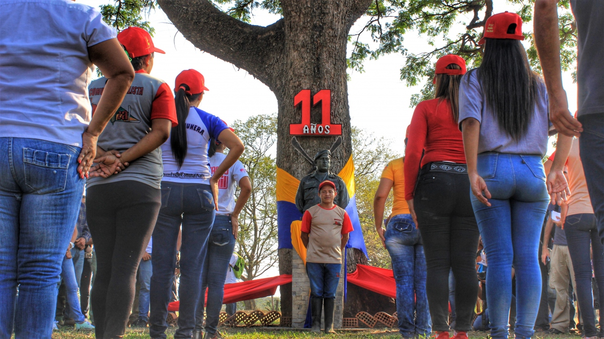Anniversary of El Maizal Commune: Symbolic act of conmemoration
