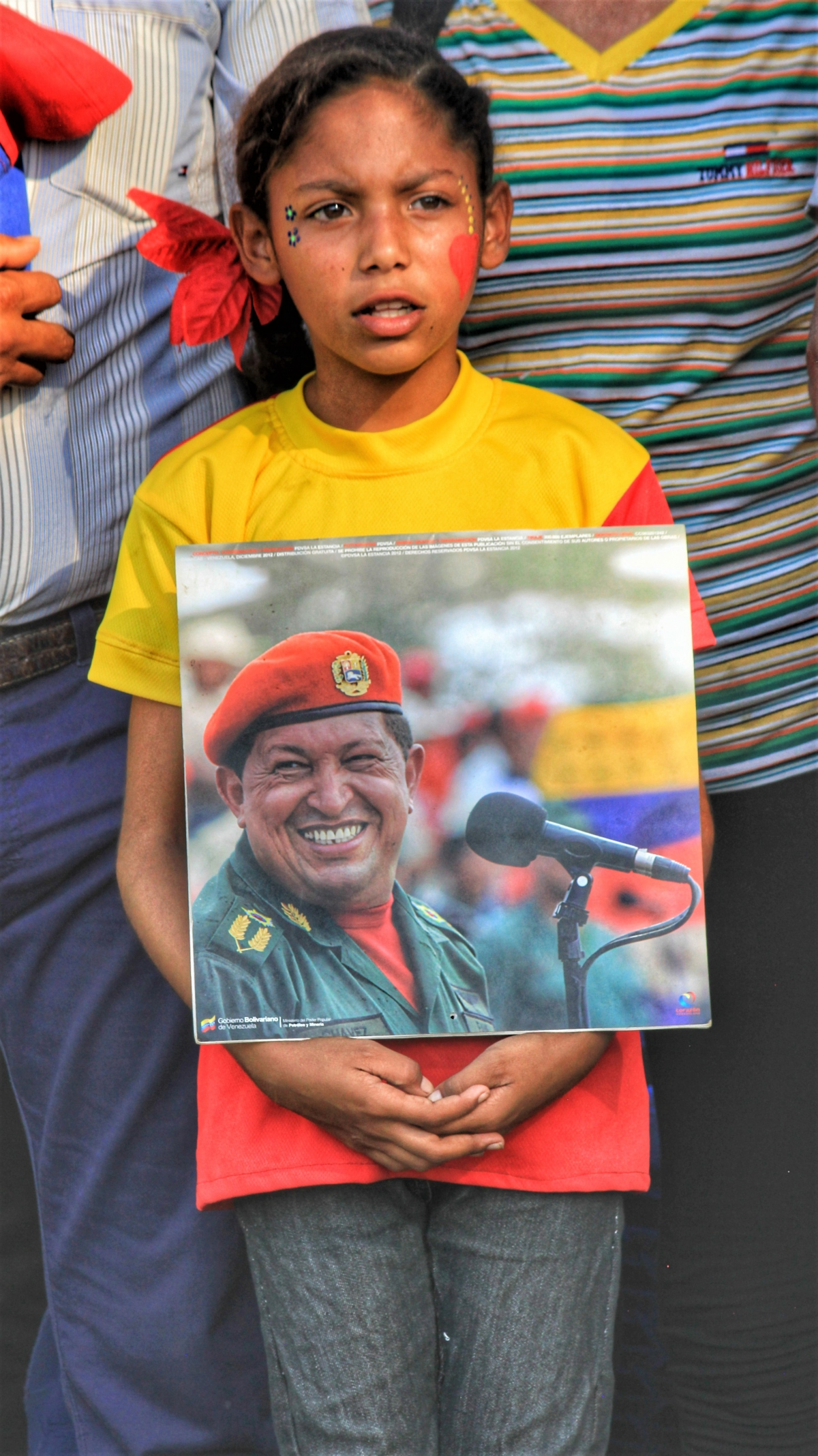 Anniversary of El Maizal Commune: Young communard commemorates Chávez