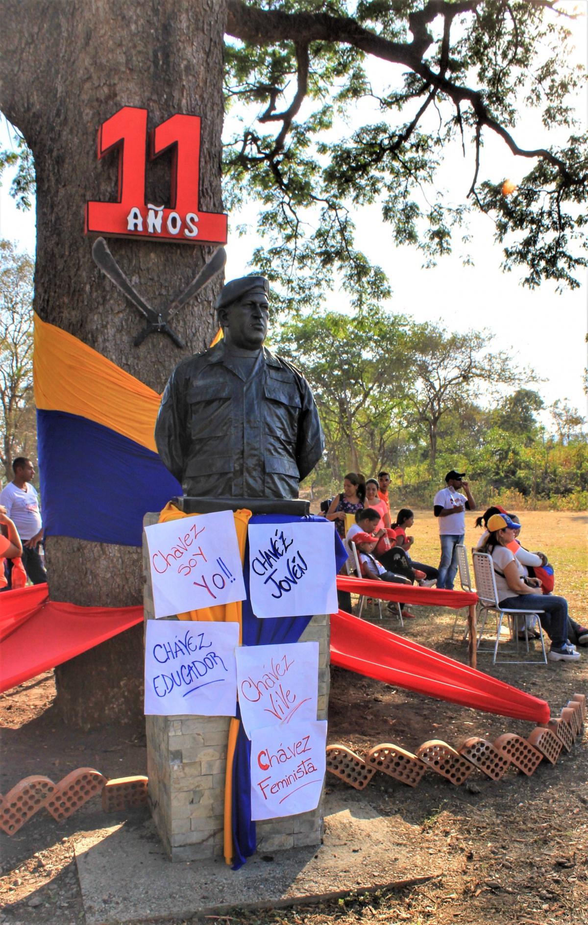 Anniversary of El Maizal Commune: I am Chávez
