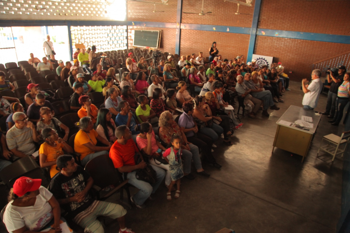 An assembly held over the weekend in Guarenas to discuss the new Homeland Plan