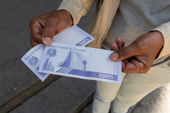 High inflation has seen the Venezuelan Central Bank roll out higher denomination banknotes. (EFE)