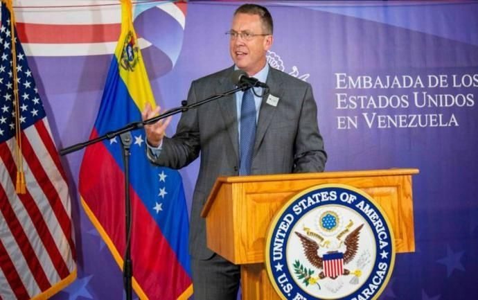 "Former ambassador to Venezuela James Story will head an ""interests section"" dedicated to Venezuela in the US embassy in Bogota. (Archive)"