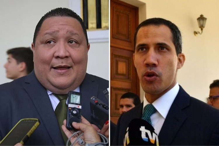 "Deputy Jose Brito (left) and self-proclaimed ""interim president"" have traded corruption accusations this week. (Archive)"