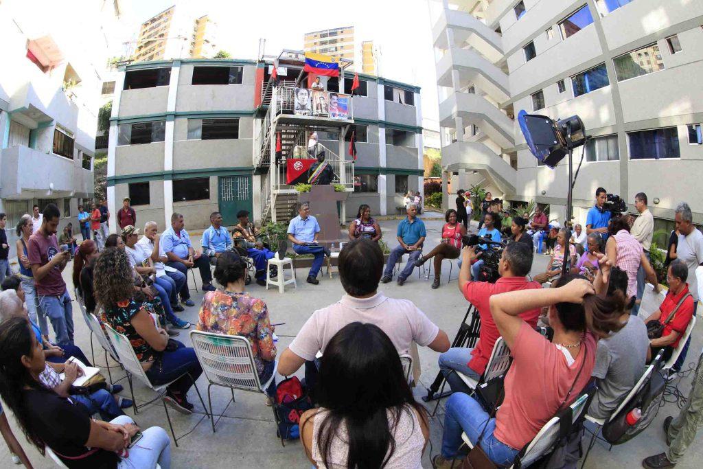 Campamento de Pobladores Kaika Shi (Caracas) assembly. (Movimiento de Pobladoras y Pobladores)