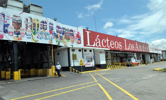 A Lacteos Los Andes plant in Lara State. When the dairy company stopped producing in 2008, the Venezuelan state expropriated it, fully indemnifying the former owners. The plants were then renovated, with a large capital investment to reinitiate production. (Lacteos Los Andes)