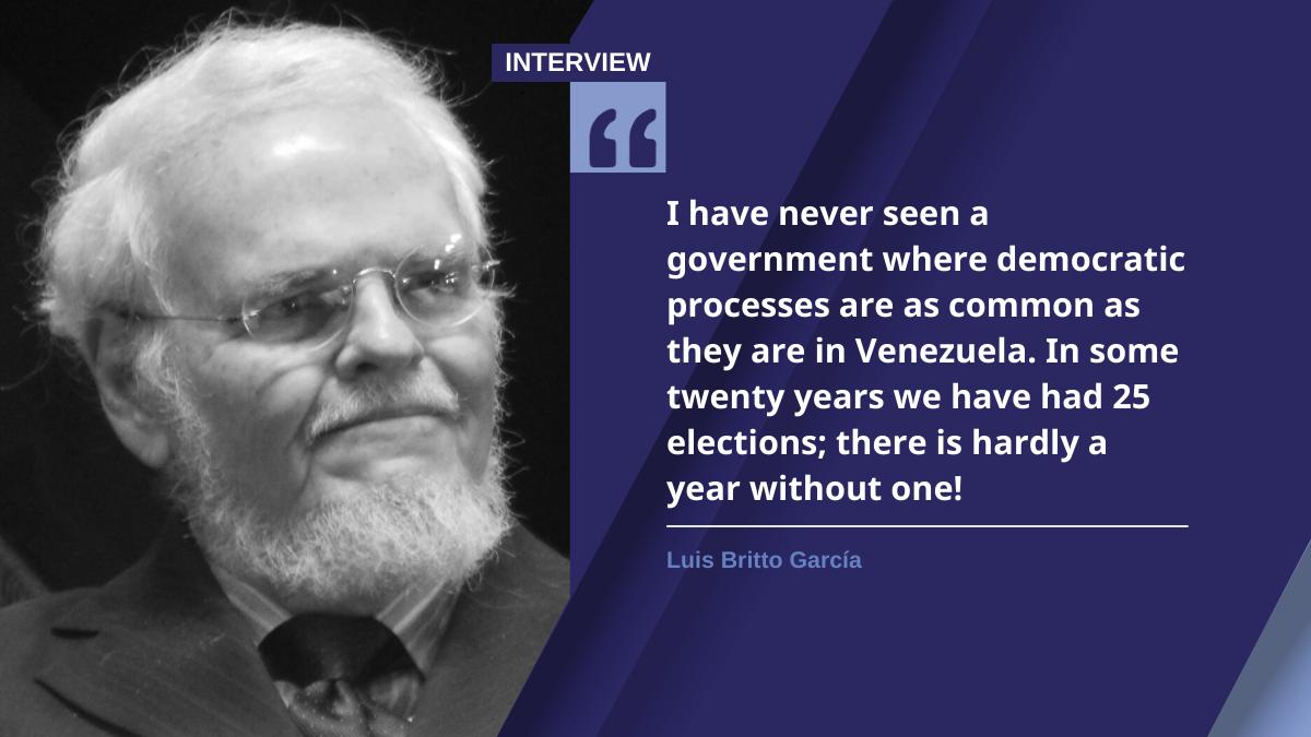 Luis Britto García (Venezuelanalysis)