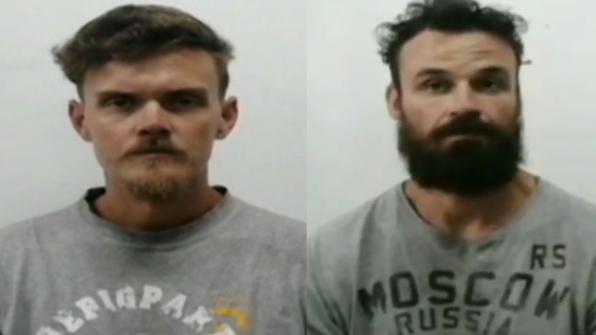 Denman and Berry were arrested following a failed paramilitary incursion. (VTV)