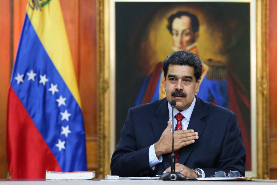 President Maduro held a press conference on Friday. (Presidential Press)