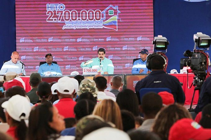 "President Maduro called for ""strategic patience"" in talks with the opposition. (Presidential Press)"