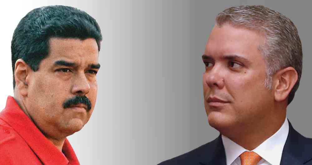 """Maduro dismissed as """"ridiculous"""" Duque's decision to channel his extradition request to Juan Guaido. (Semana)"""