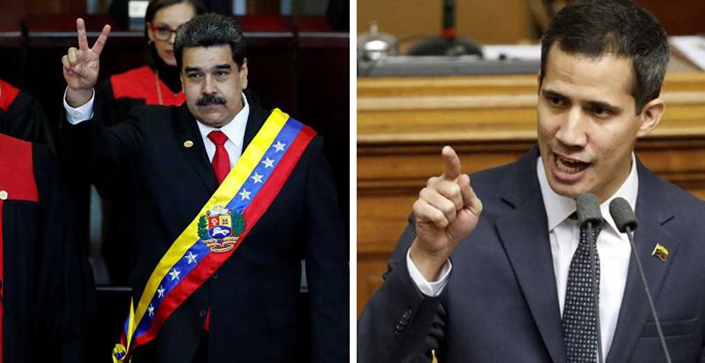 President Nicolas Maduro and opposition leader Juan Guaido both sent teams to Oslo, Norway this week to hold a new round of talks. (Archive)