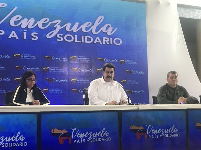 Maduro announced the measure in a televised meeting on Tuesday. (Alba Ciudad)