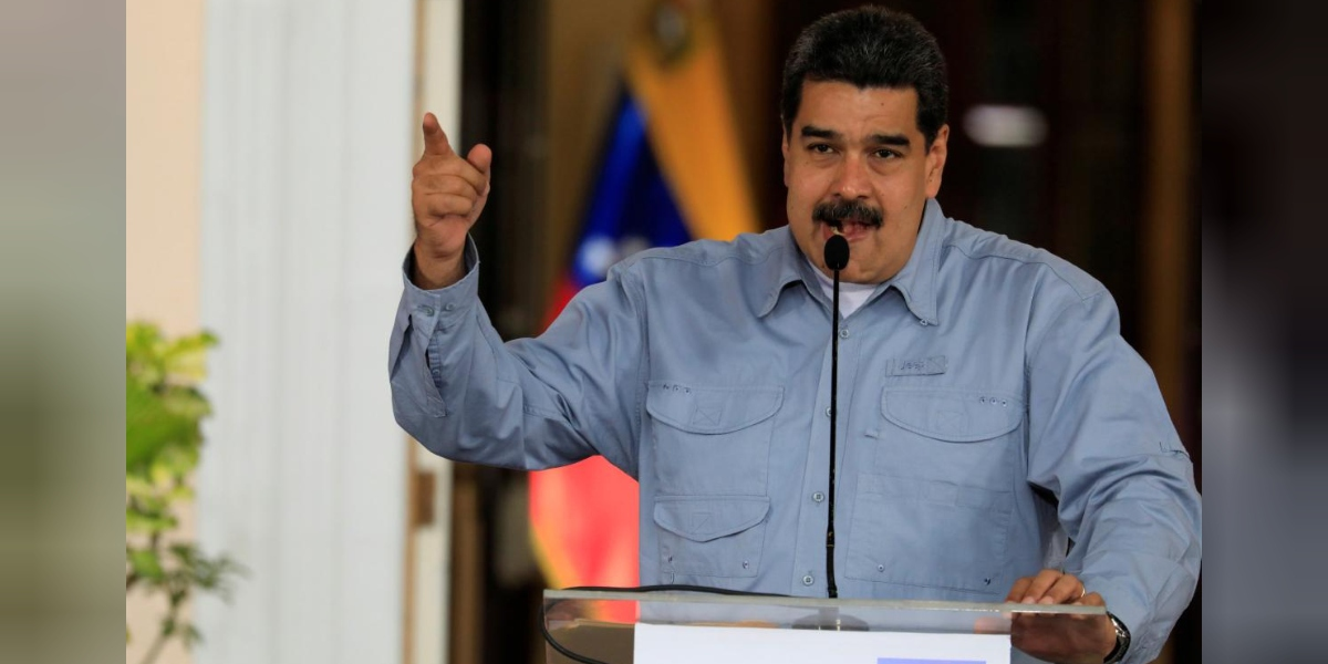 "Reuters biased brief of 4/19/18 reports on EU officials ""accusing [Venezuelan President Nicolás] Maduro's government of breaches of human rights and undermining democracy."""