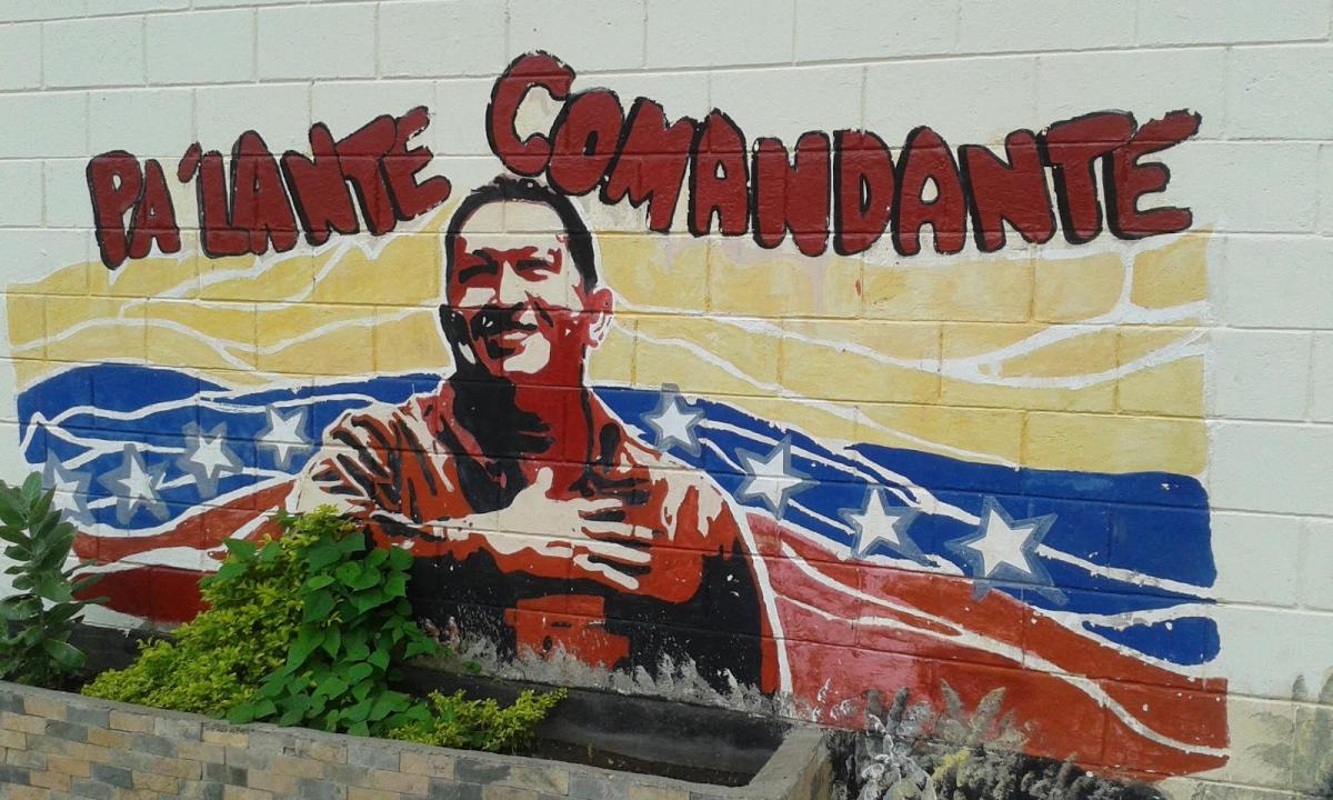 Mural in El Maizal. (Ricardo Vaz)
