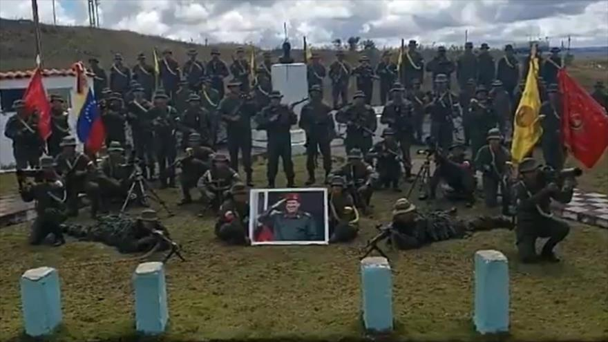 The 513 Mariano Montilla Battalion in Bolivar State was attacked on Sunday. (HispanTV)