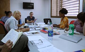 VA meets with delegates