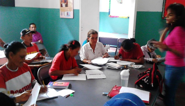 Robinson Mission classroom, 2013. (VTV)