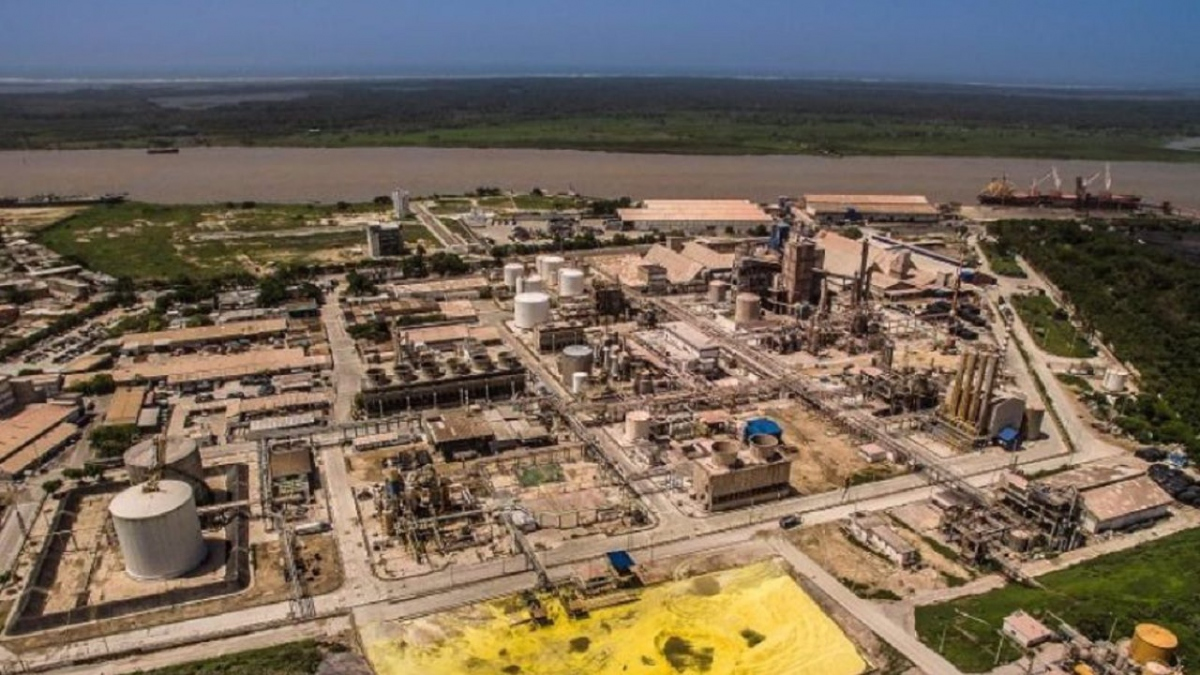 Monómeros plant in Barranquilla, Colombia. (Archive)