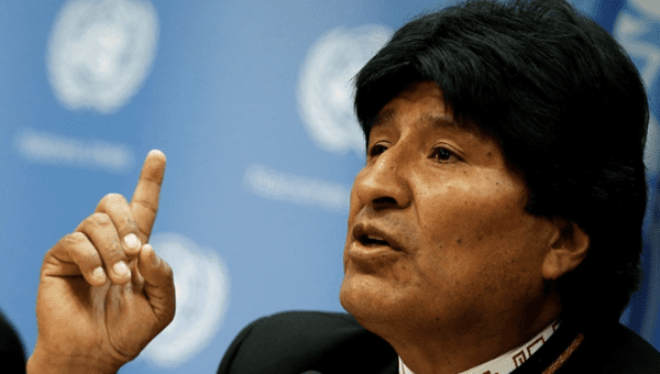 The Bolivian president, Evo Morales, condemned the U.S. vice president Mike Pence's interventionist move of seeking to suspend Venezuela from the 35-members pan-American organization.  (Reuters)