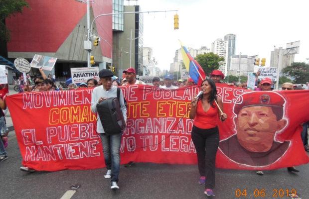 Movimiento de Pobladoras y Pobladores march. (Movimiento de Pobladoras y Pobladores)