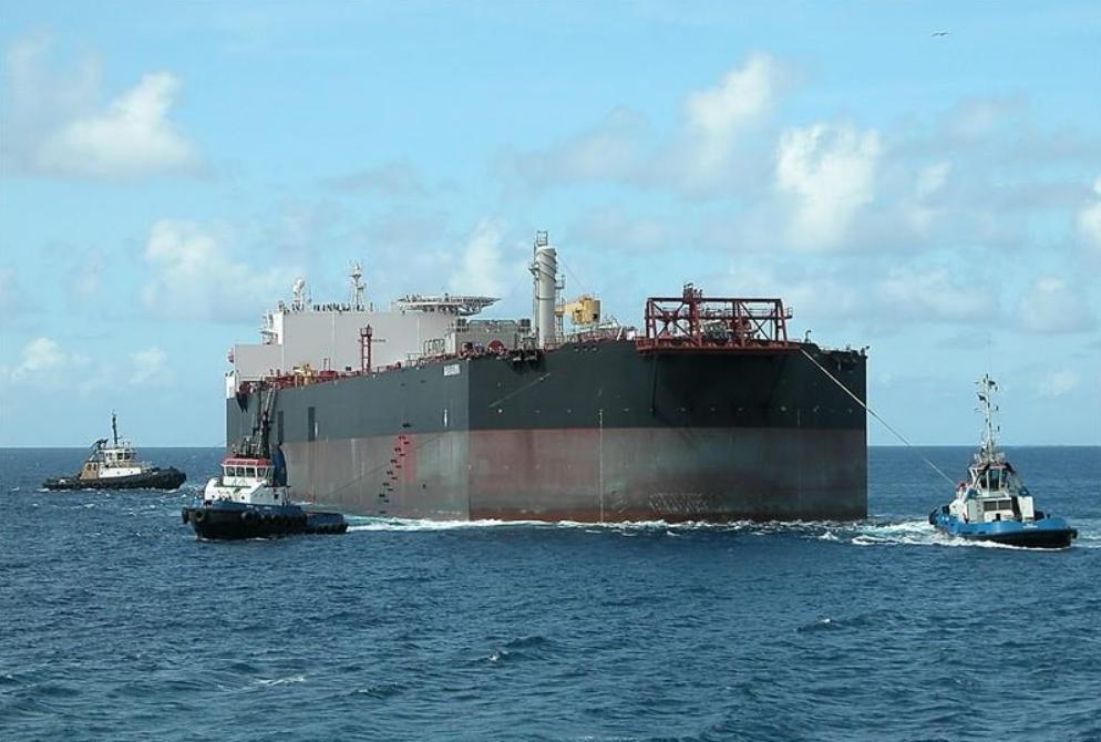 The Nabarima offshore oil facility in eastern Venezuela (Credit Cornelis Bustrann / Marine Traffic)