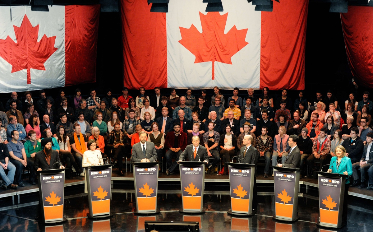 The 2012 NDP Leadership debate at the CBC Vancouver studios March 11, 2012 (NDP)