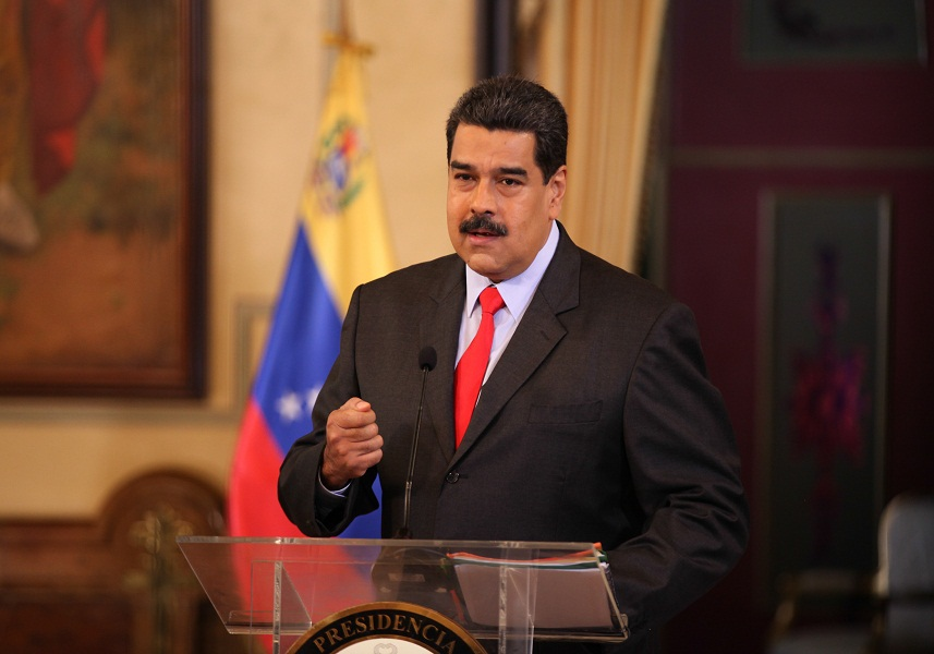 Maduro told the public that he his government would seek to meet with its Colombian counterpart to discuss their shared border. (MINCI)