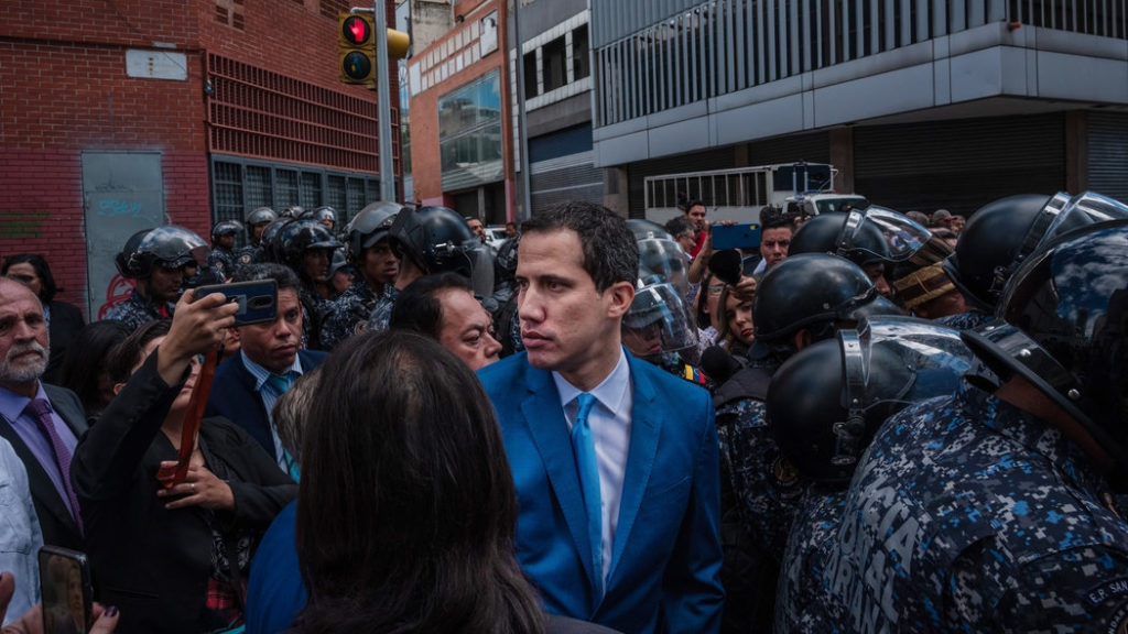 Western media has sought to boost Guaido's quickly falling stock in recent days. (NYT)