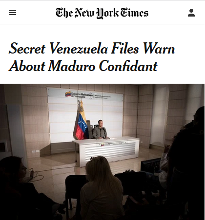 The New York Times (5/2/19) publishes sensational charges about an official enemy, based on documents only the Times has seen, vouched for by unnamed intelligence agents. What could go wrong?
