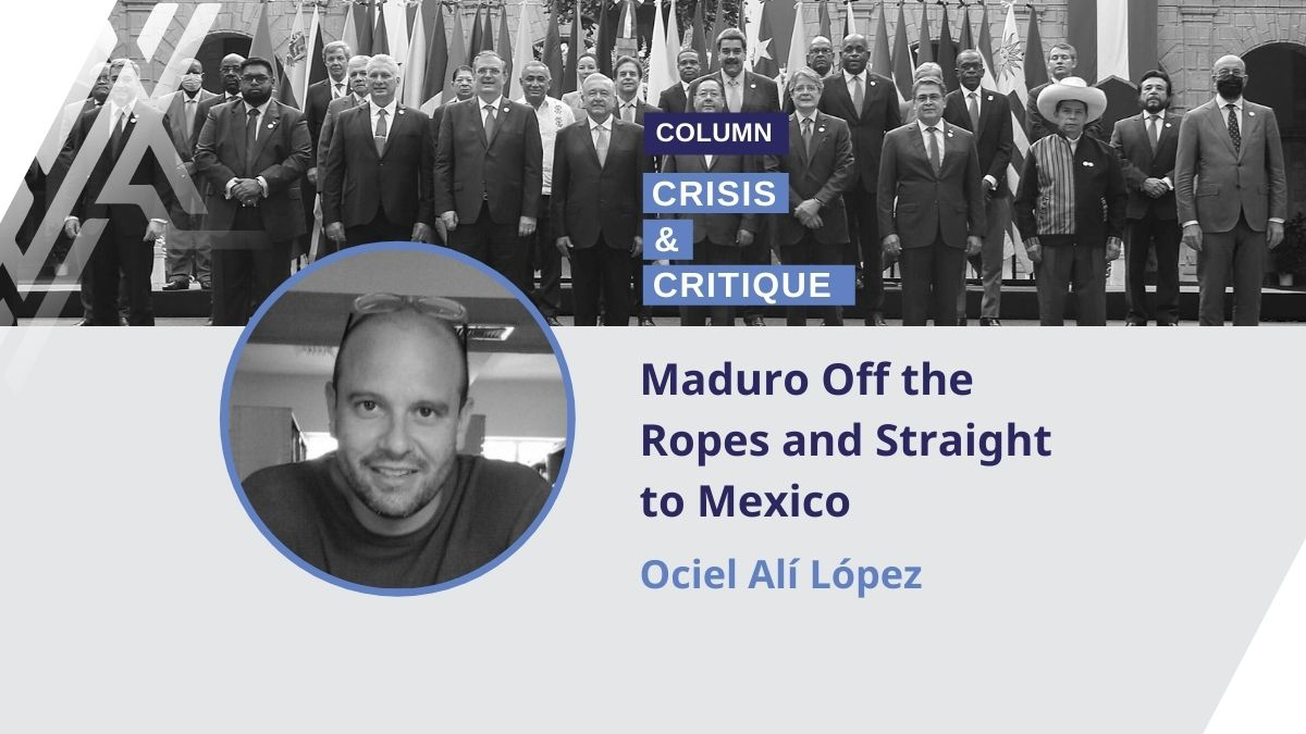 Ociel López argues Maduro's participation in a recent CELAC summit was another blow to the US-backed opposition. (Venezuelanalysis)