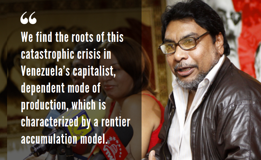 Oscar Figuera is secretary-general of the Venezuelan Communist Party. (Venezuelanalysis)