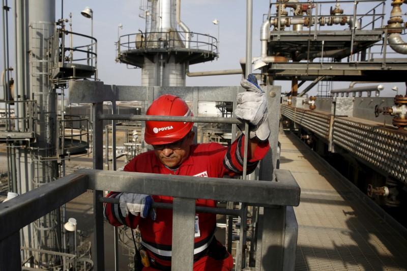 Jose Antonio Anzoategui refining complex in eastern Venezuela. (Reuters)