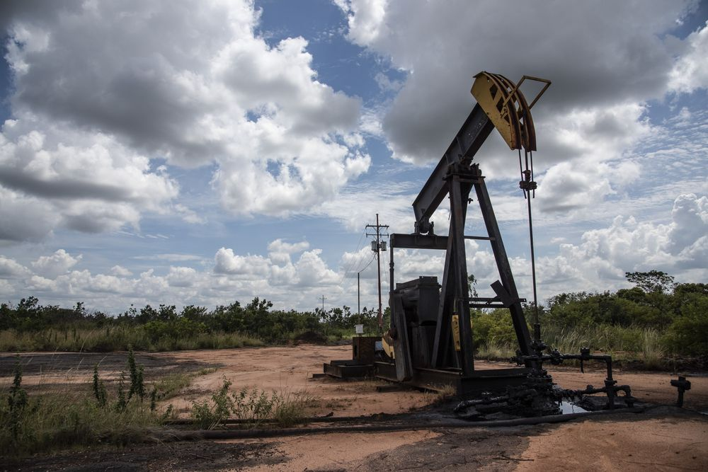 PDVSA facility in the Orinoco Oil Belt. (Bloomberg)