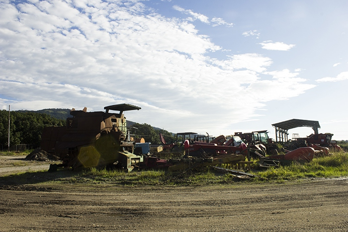 Abandoned machinery of the Pedro Camejo Company in Uraciche, Yaracuy State. (CRBZ Press)