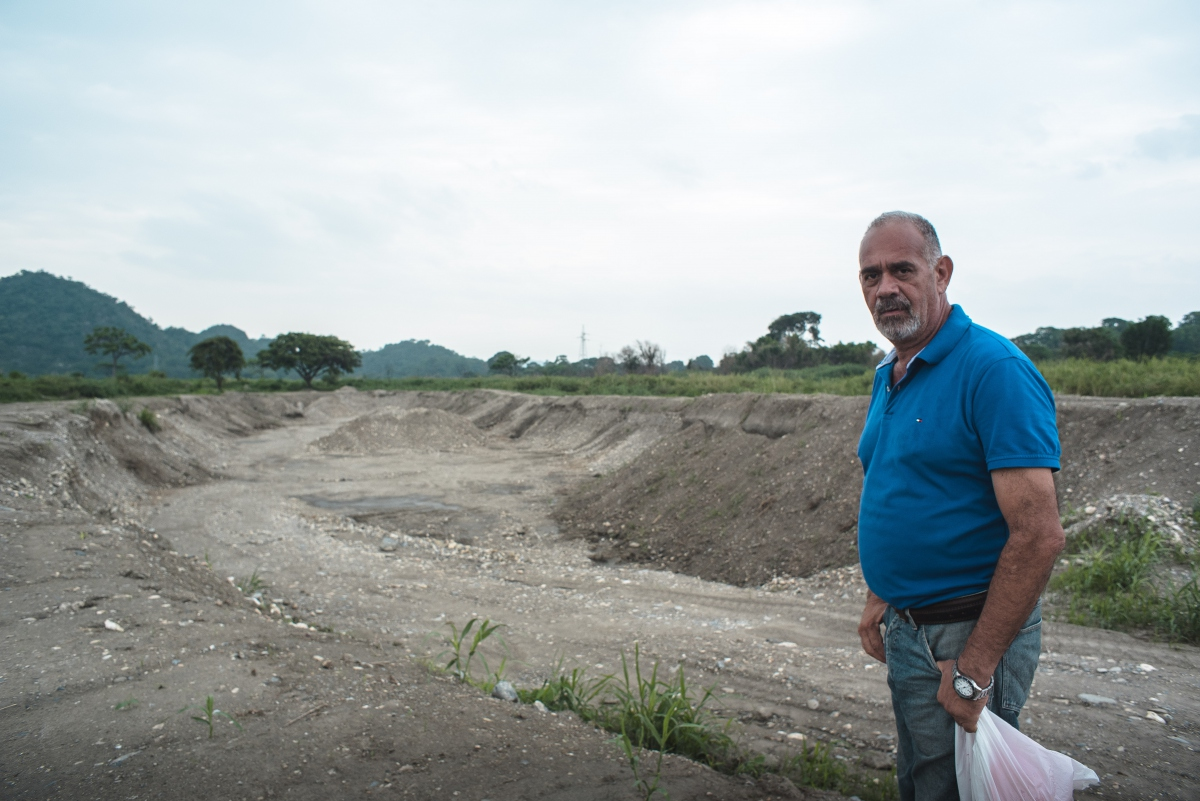 The mining activities have had the backing of authorities (Marcelo Volpe).