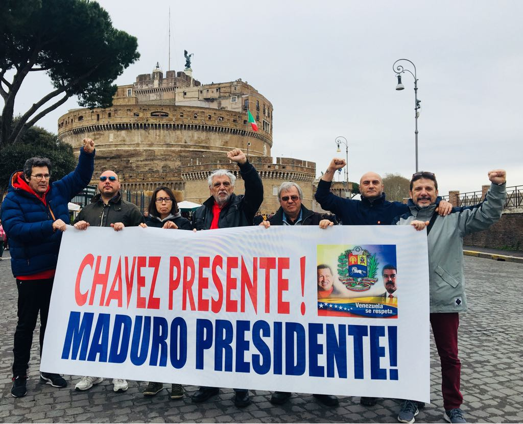 Italy: Solidarity With The Bolivarian Revolution In Rome