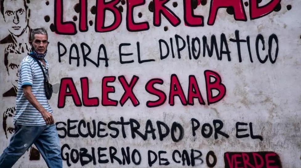 Caracas has demanded the release of Alex Saab. (AFP)