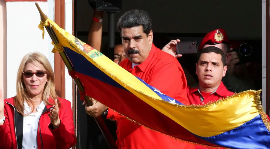 Nicolas Maduro on January 23. (Prensa Presidencial)