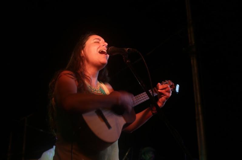 Songwriter Amaranta Perez also took part in the concert (Seguei Alvarado).