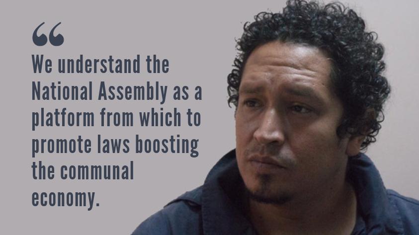 Oliver Rivas, PSUV-block candidate. (Venezuelanalysis)