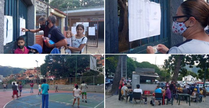 On December 6, 30.5 percent of the population went to the polls, while the majority stayed at home. Caracas. (Venezuelanalysis)