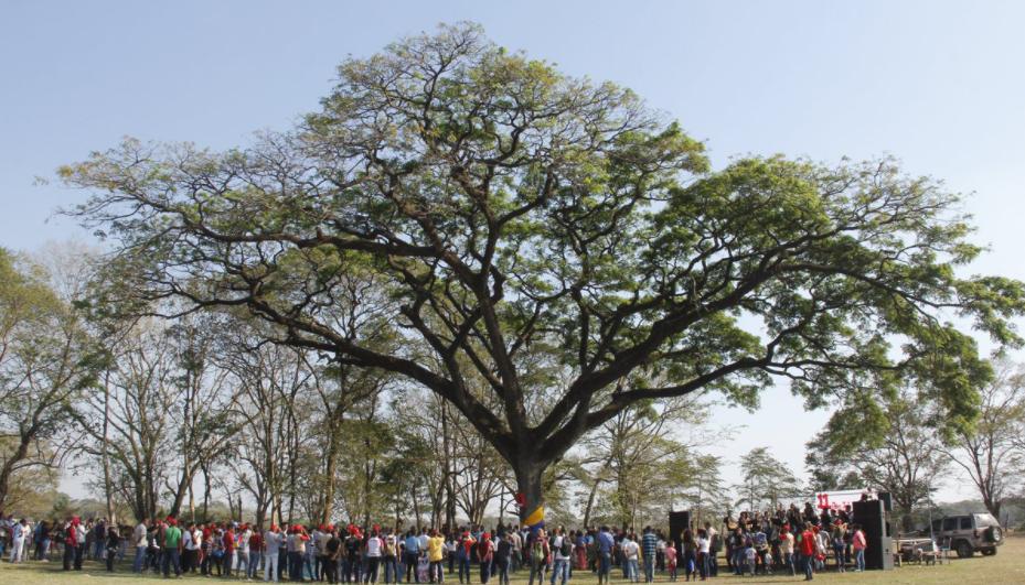 A communal assembly at El Maizal, Lara state. (Gerardo Rojas)