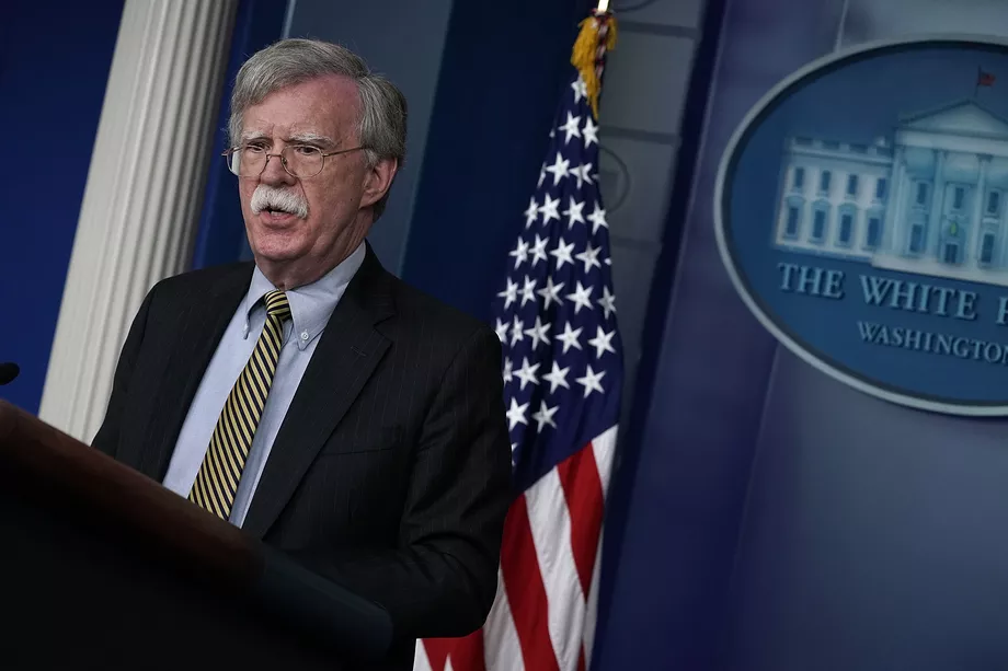 John Bolton announced the new sanctions against Venezuela, Cuba and Nicaragua. (Alex Wong / GettyImages)
