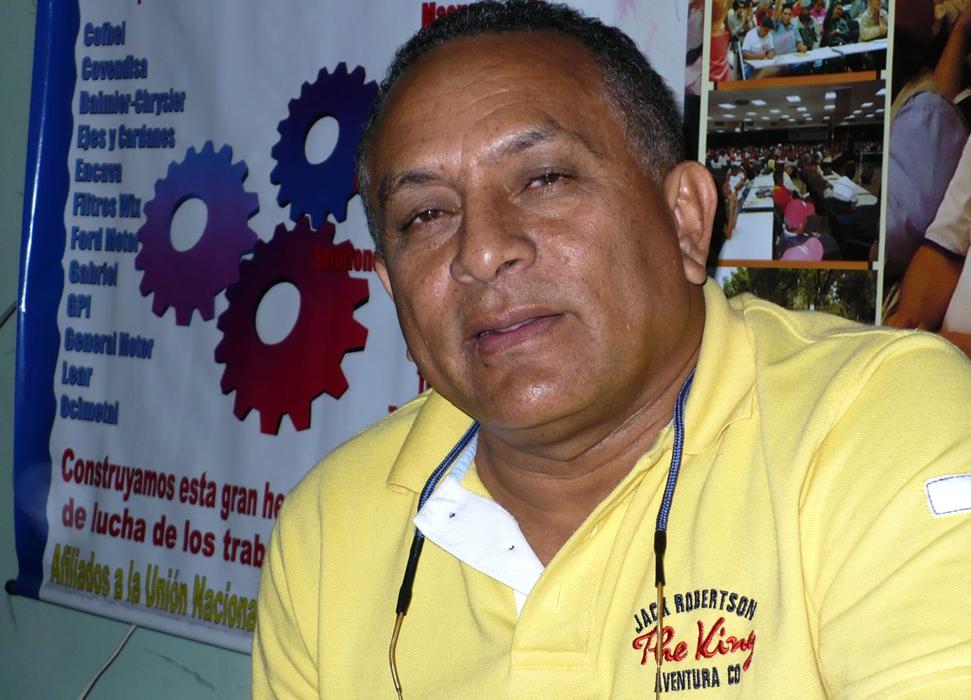 Stalin Pérez Borges is a union leader and veteran socialist militant. (Archive)