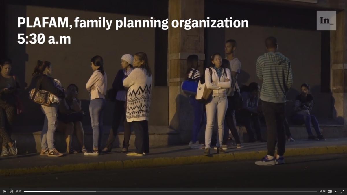 Still from The Intercept's video