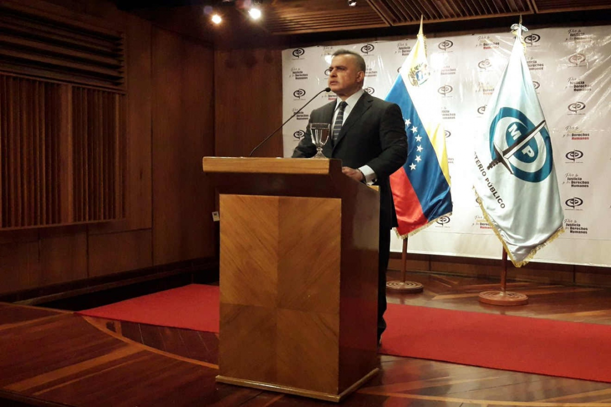 Attorney General Tarek William Saab has led the fight against corruption and smuggling. (CorreoDelOrinoco)