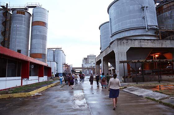 Former Brahma beer factory