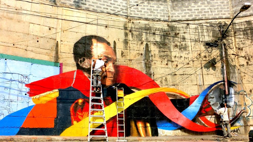 Comando Creativo mural in Caracas. (Comando Creativo)