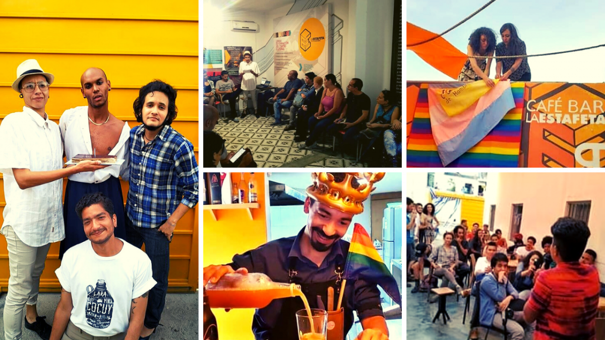 Colectiva Transgresores' one year anniversary party, July 2019. (facebook.com/transgresoresvzla)