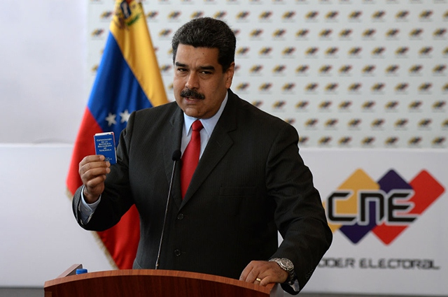 Nicolas Maduro in press conferente, March 2, 2018